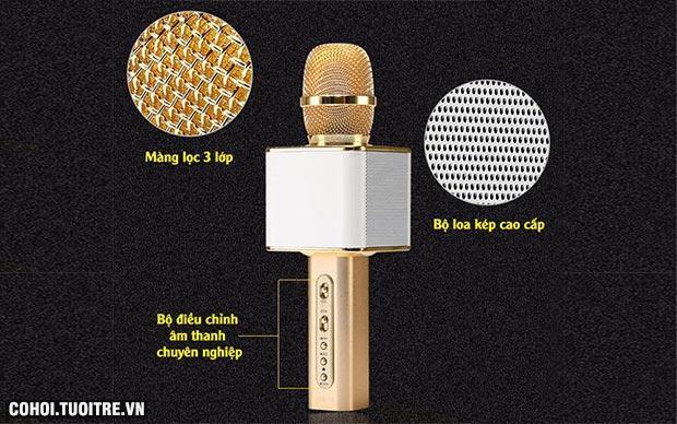 Micro karaoke không dây kèm loa Bluetooth Magic YS 10