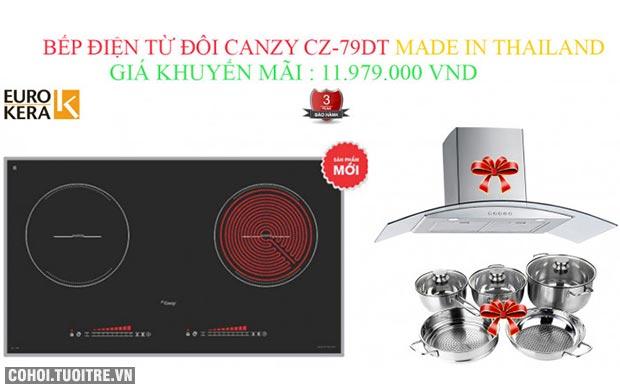 Bếp điện từ Canzy CZ-79DT chính hãng