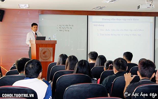 Hưởng lợi với chương trình đào tạo mang tinh thần DN
