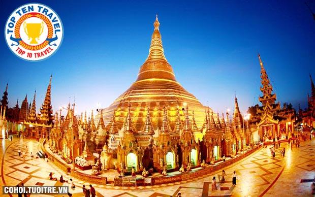 Tour Myanmar trả góp lãi suất 0%, trả trước 4.500.000đ
