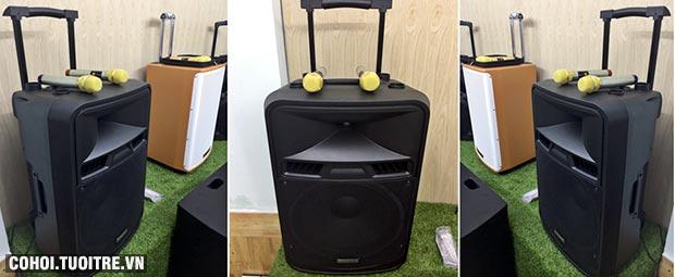 Loa vali kéo di động bluetooth karaoke Temeisheng SL15-05