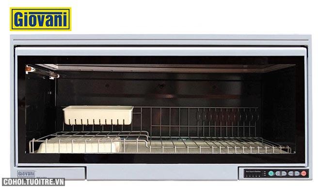 Xả kho máy sấy bát treo tủ bếp Giovani G-802S
