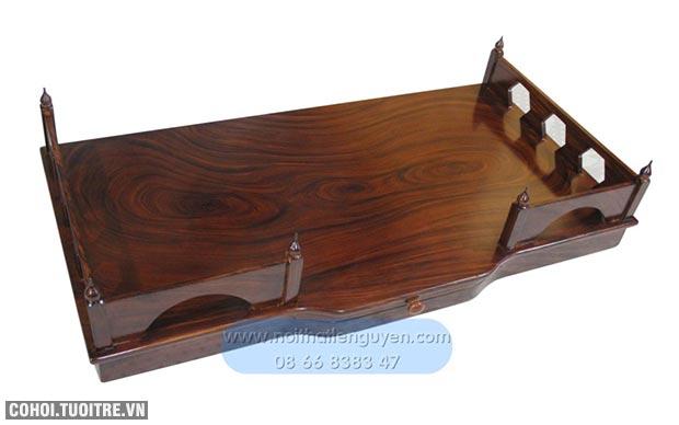 Bàn thờ treo tường bằng gỗ nhiều mẫu mã, kiểu dáng