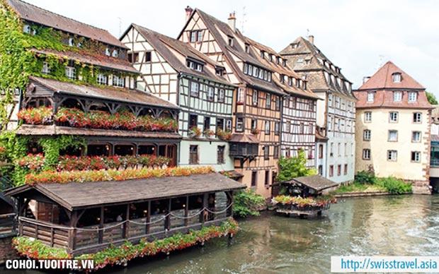 Tour châu Âu, Pháp - Đức - Hà Lan - Bỉ