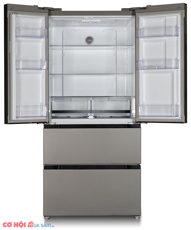 Xả kho tủ lạnh Side by Side KAFF KF-BCD523W dung tích 523L