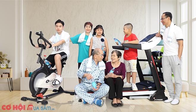 Tập luyện tại gia - Rinh SH về nhà tại 121 showroom Elipsport