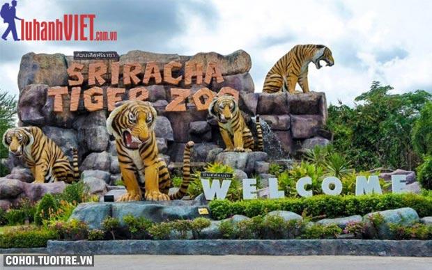 Tour Thái Lan 4 sao, siêu khuyến mãi