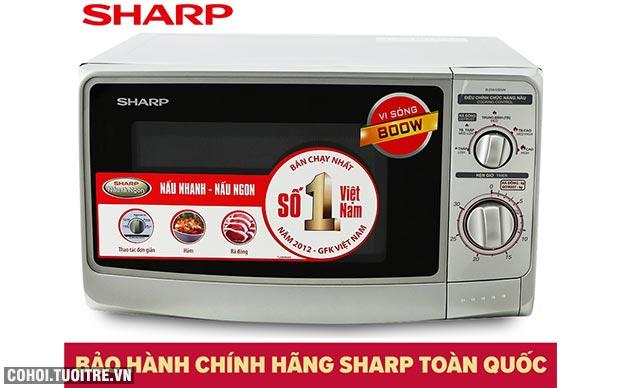 Xả kho lò vi sóng Sharp R-21A1(S)VN giá từ 1,485 triệu