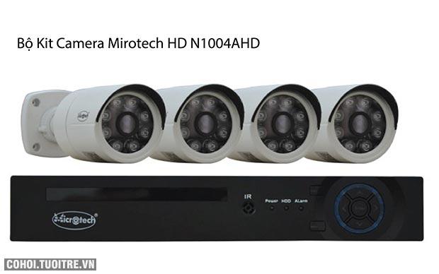 Bộ kit camera Mirotech HD N1004