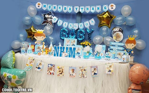 Phụ kiện trang trí sinh nhật độc đáo cho bé