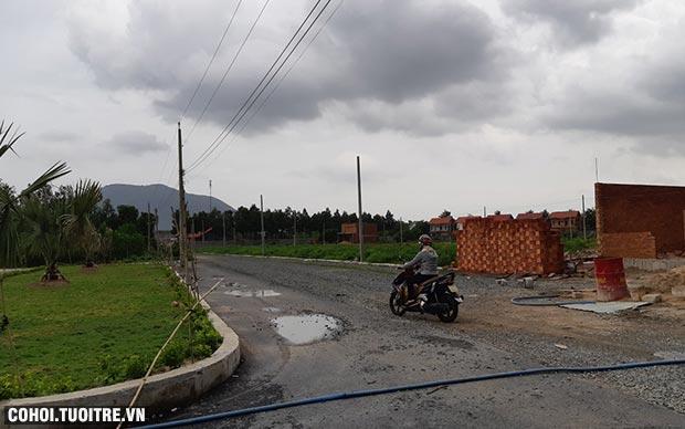 Sang đất mặt tiền huyện Tân Thành, Bà Rịa-Vũng Tàu