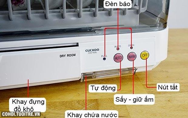 Máy sấy chén bát đĩa tự động CUCKOO CDD-T9045
