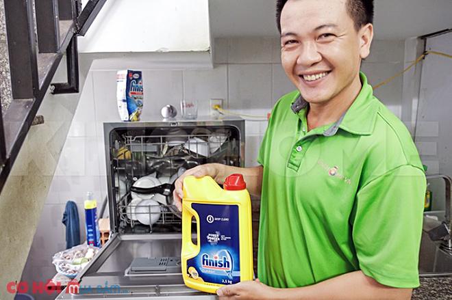Tìm hiểu bột rửa chén bát Finish Classic 2.5Kg