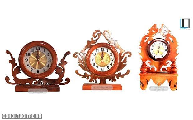 Lê Nguyễn chuyên cung cấp đồng hồ bằng gỗ tự nhiên