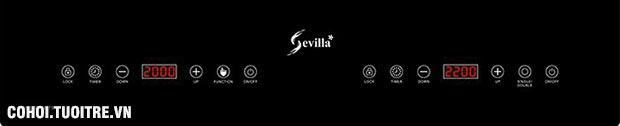 Bếp điện từ hồng ngoại Sevilla SV-189TS