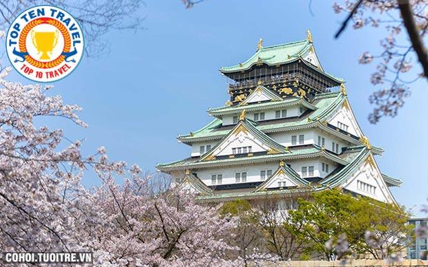 Tour Mono Osaka Nhật Bản - Kobe, Osaka, Kyoto, Kansai