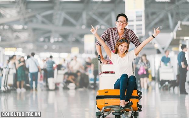 Du lịch châu Á Tết Nguyên đán với chi phí 0 đồng