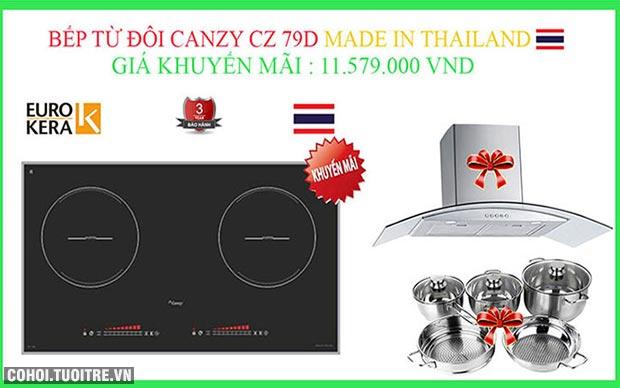 Bếp điện từ Canzy CZ-79D nhập khẩu từ Thái Lan