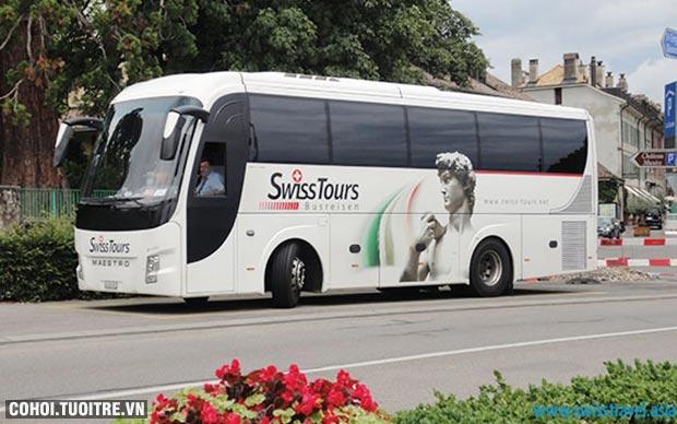 Vòng quanh Pháp, Thụy Sĩ, Ý, Tây Ban Nha 12 ngày