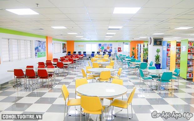 Không gian đại học trẻ trung tại UEF