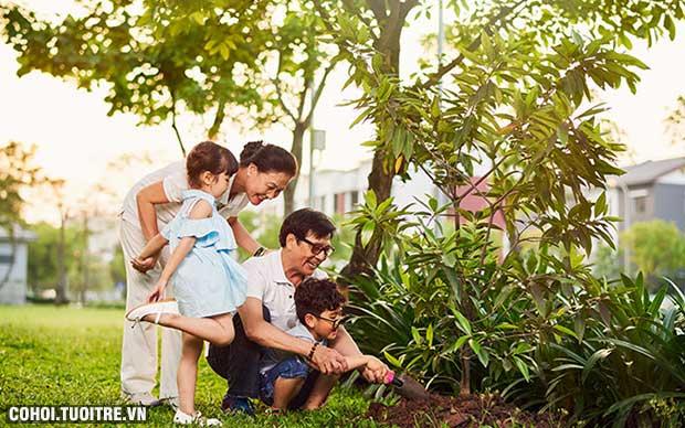 Gamuda Gardens - điểm đến vui chơi của GĐ có con nhỏ