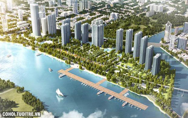 Quy luật tăng giá đất ven sông nhìn từ thị trường thế giới