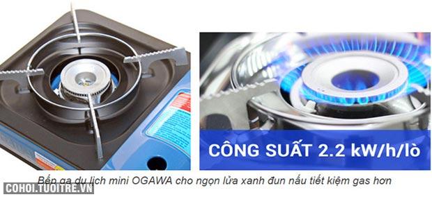 Bếp gas du lịch mini, bếp gas đơn OGAWA
