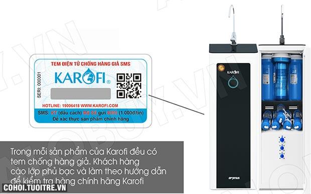 Máy lọc nước RO KAROFI OPTIMUS i1 O-i129U (Đèn diệt khuẩn)