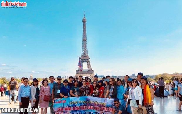 Chùm tour du lịch châu Âu đồng giá chỉ 39,9 triệu đồng