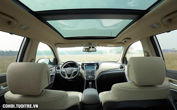 Hyundai SantaFe 2017 khuyến mãi giảm giá đến 230 triệu đồng