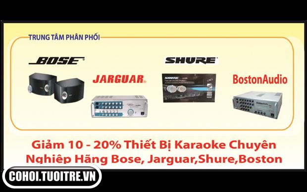Thiết bị karaoke Arirang và các hãng xã hàng Tết