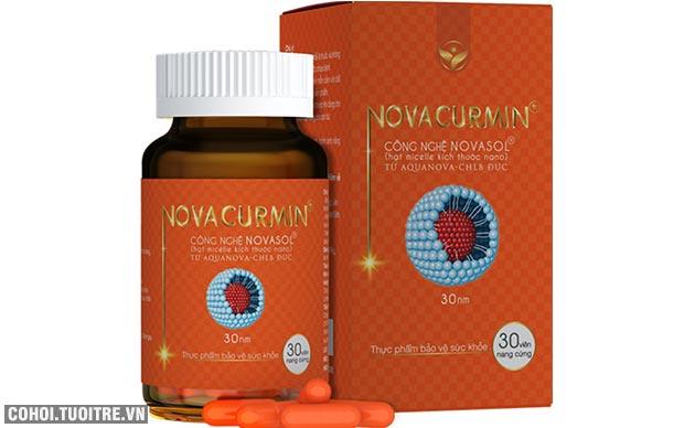 Giải tỏa cơn đau dạ dày bằng nanocurcumin với Novacurmin