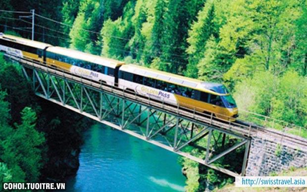 Đến Thụy Sĩ ngắm cảnh, tham quan Lucerne - Interlaken