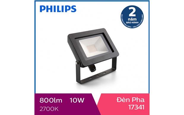 Đèn pha LED Philips ngoài trời My Garden 17341 10W 2700K
