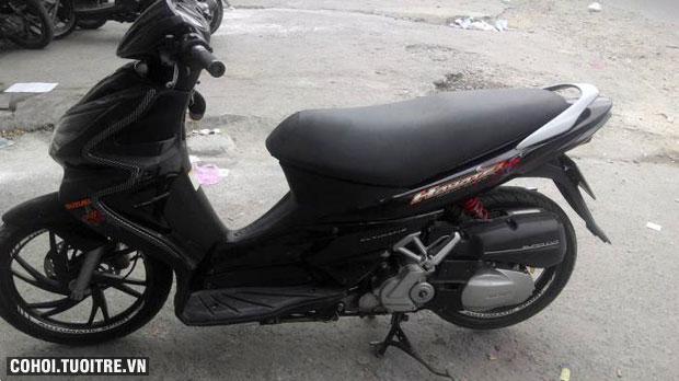 Xe Suzuki Hayate 125cc đời 2008 màu đen