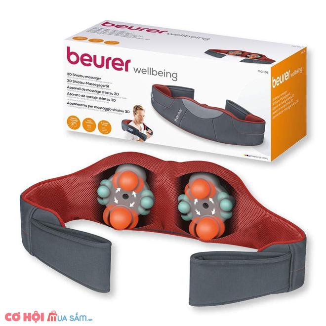 Đai massage trị liệu Beurer MG151