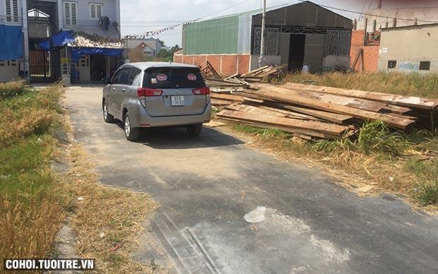Sang lô đất vuông vức thổ cư 100% huyện Hóc Môn