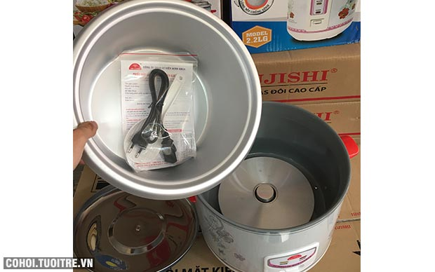 Nồi cơm điện Kim Cương 2.8L nắp rời, giá rẻ