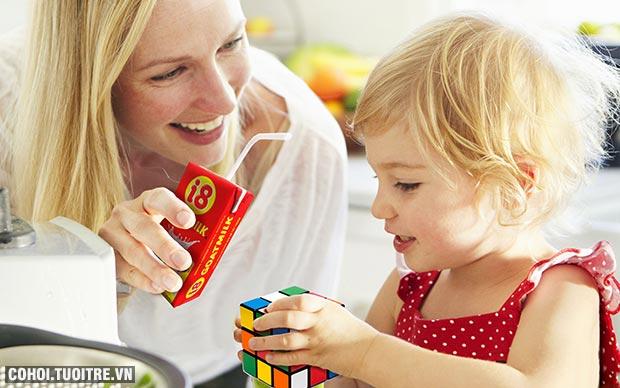 Sữa dê tiệt trùng i8 đúng nguyên chất Hà Lan