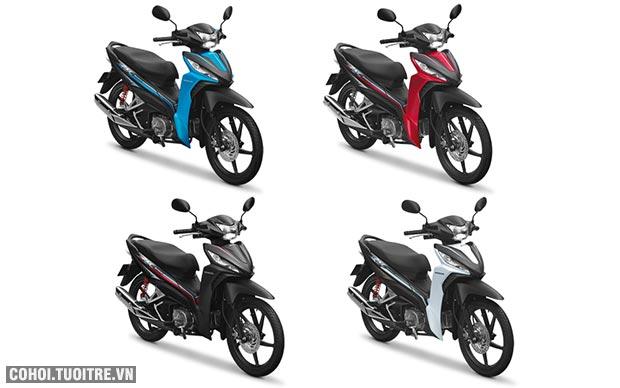 Nâng tầm phong cách với phiên bản Honda Wave 110 RSX mới