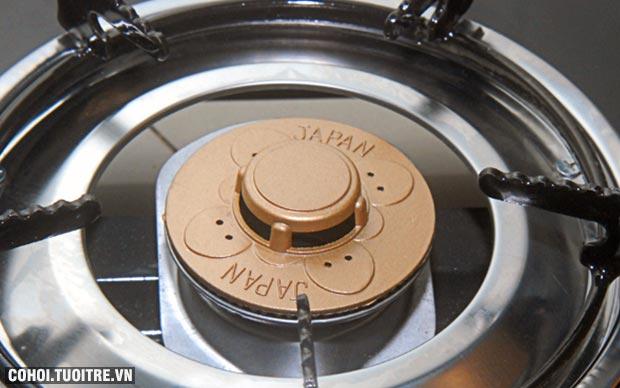 Bếp gas đôi mặt kiếng cường lực Fujishi FJ2016N