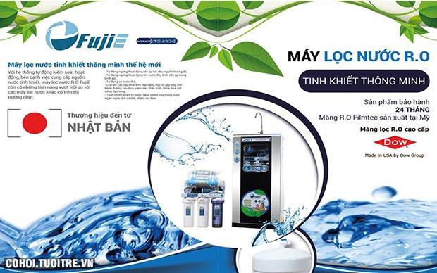 Máy lọc nước FujiE RO-08 CAB 8 cấp độ lọc