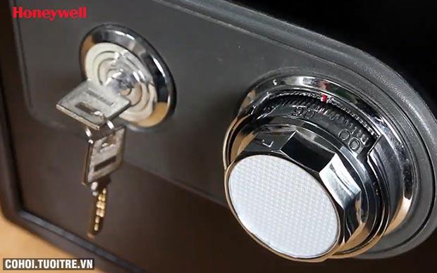 Két sắt khóa cơ an toàn chống nước, lửa Honeywell 2101