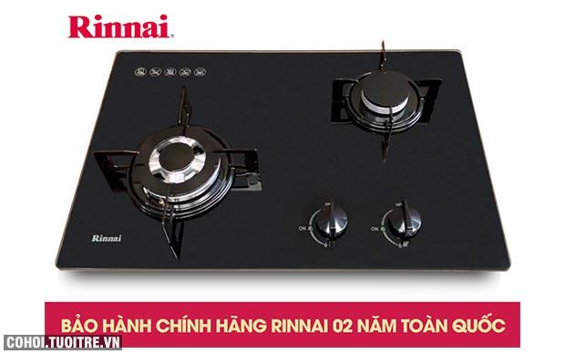 Bếp gas âm Rinnai RVB-6SDQ(B), ngắt gas tự động