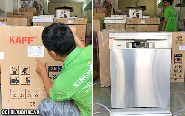 Máy rửa bát độc lập Kaff KF-W60C3A401L