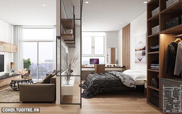 Những hình ảnh tuyệt đẹp của căn hộ mẫu 5 sao