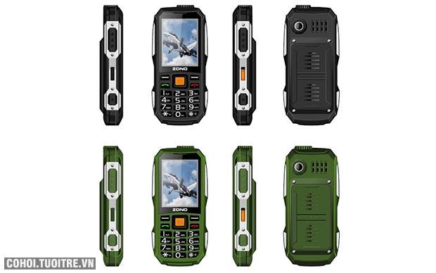 Điện thoại Zono B4000 pin khủng nghe nhạc hay