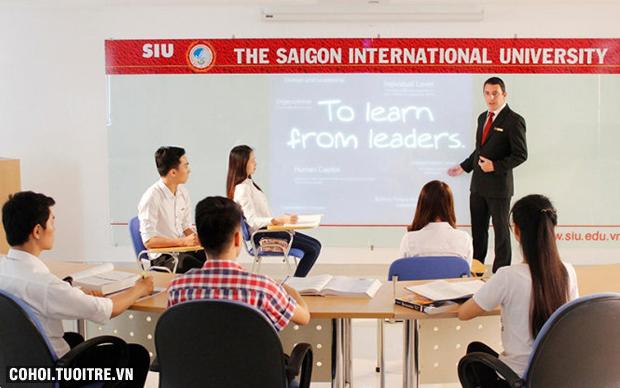 ĐH Quốc tế Sài Gòn công bố điểm xét tuyển nguyện vọng 1