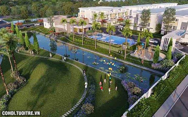 Thanh toán 30% sở hữu ngay nhà liên kế 2 sân vườn