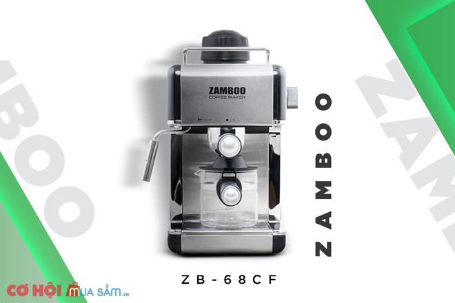 Máy pha cà phê gia đình Zamboo ZB - 68CF